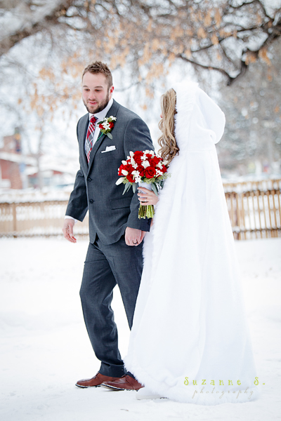 It Was A Small Winter White Wedding In Downtown Idaho Falls At The Japanese Gardens My Son Got Married December 30th To Sweet Beautiful Girl